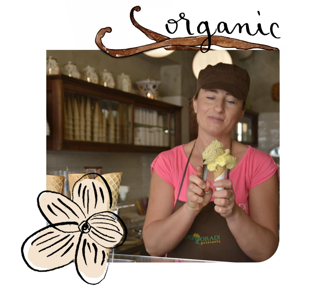 Icecream-organic Isola d'Elba